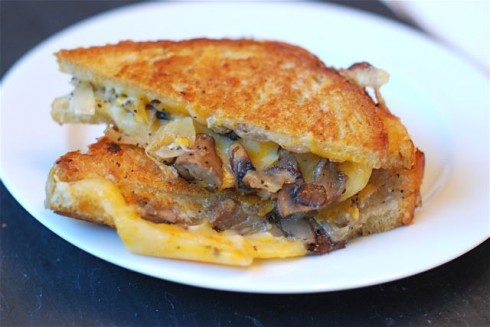 Caramelized and Onion Grilled Cheese