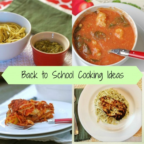 Back to School Cooking Ideas