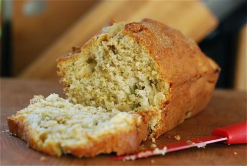 Rhubarb Orange Snack Bread