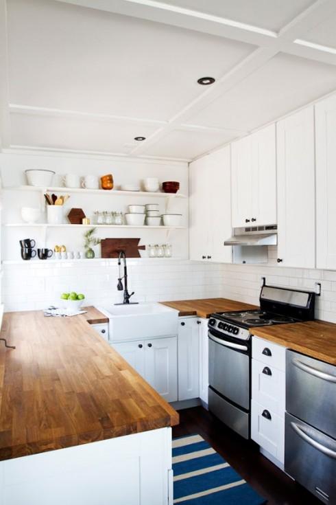 Kitchen Makeover via Smitten Studio