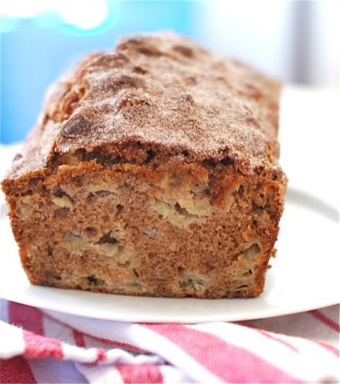 Apple Sour Cream Loaf