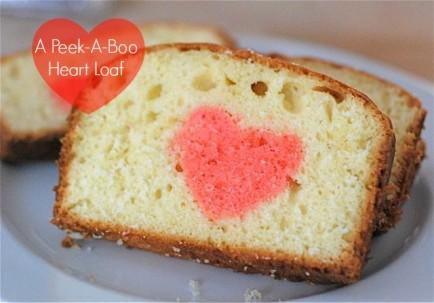 PeekaBoo Heart Loaf