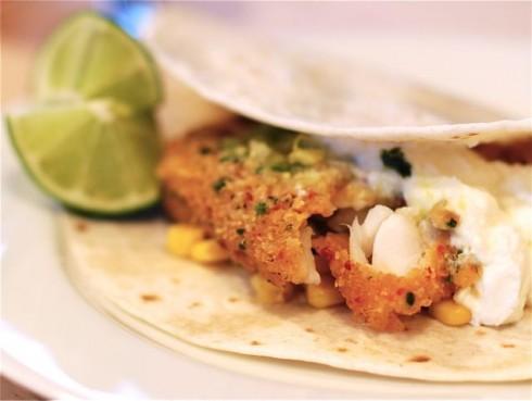 Fish Tacos at Home
