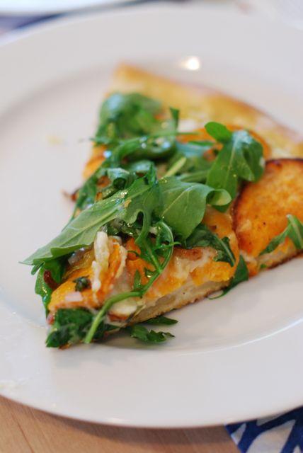 Squash Pizza with Blue Apron