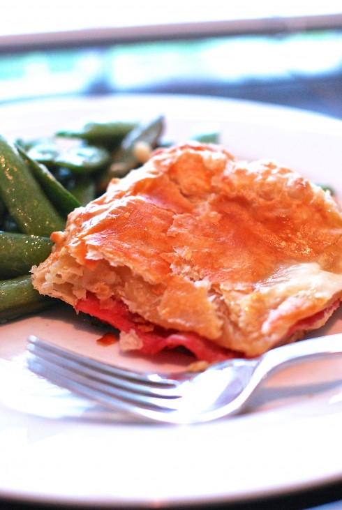 Smoked Ham & Havarti Tart