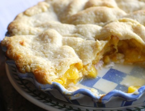 Peach Pie for Breakfast | The Naptime Chef