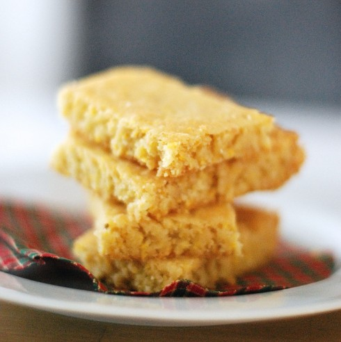 Lime Shortbread Bars | The Naptime Chef