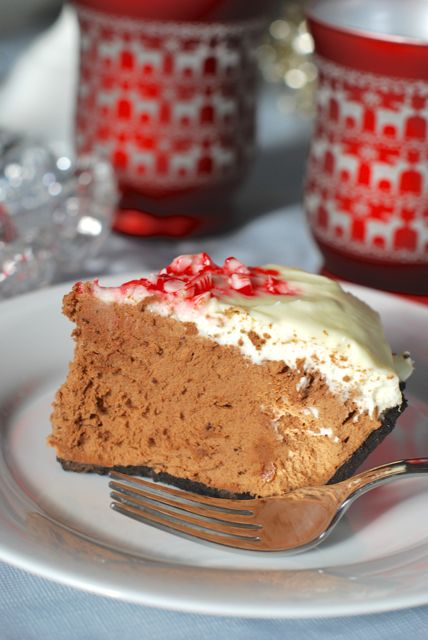 Peppermint French Silk Pie | The Naptime Chef
