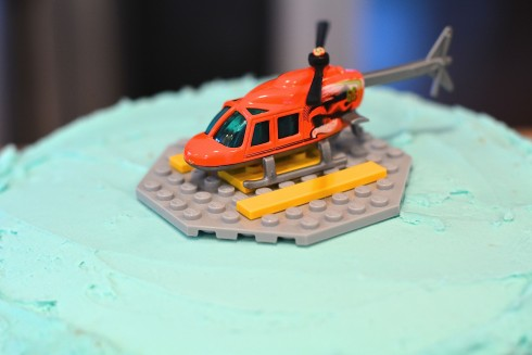 Helicopter Lemon Cake | The Naptime Chef
