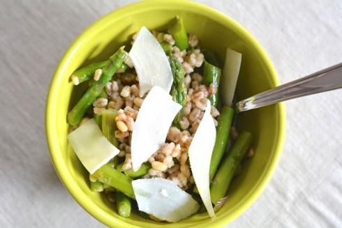 Asparagus & Barley Salad