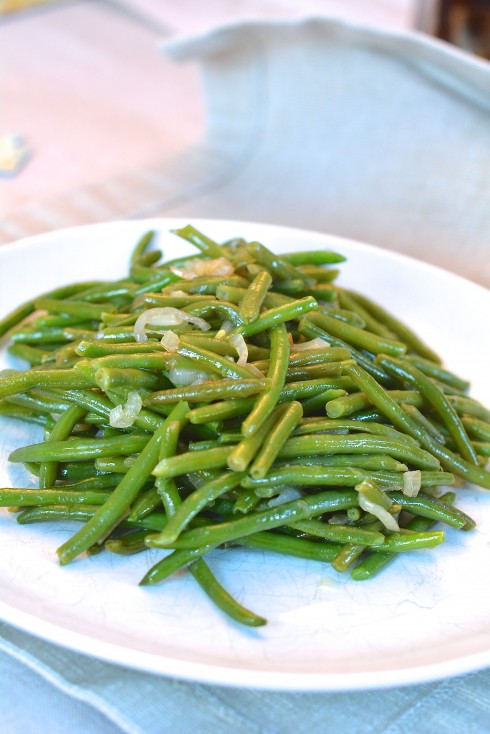 Green Beans with Shallots | The Naptime Chef
