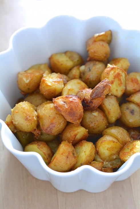 Paprika Roast Potatoes | The Naptime Chef