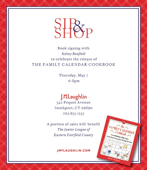 The Family Calendar Book Signing