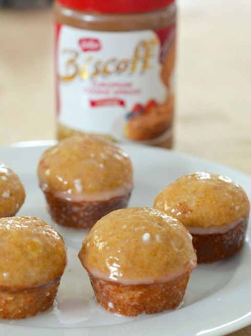 Biscoff Baked Donut Holes