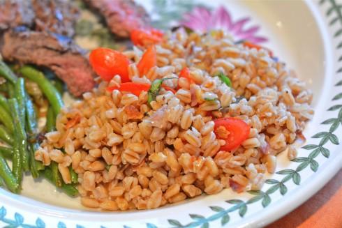 BLT Farro Salad   The Naptime Chef