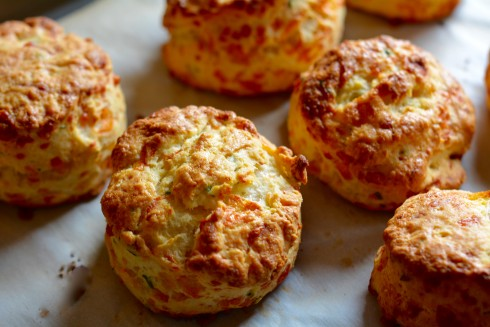 4 Ingredient Cheesey Herbed Biscuits | The Naptime Chef