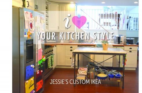 I Love Your Kitchen Style : Jessie's Custom Ikea