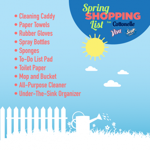 5 Spring Cleaning Tips | The Naptime Chef