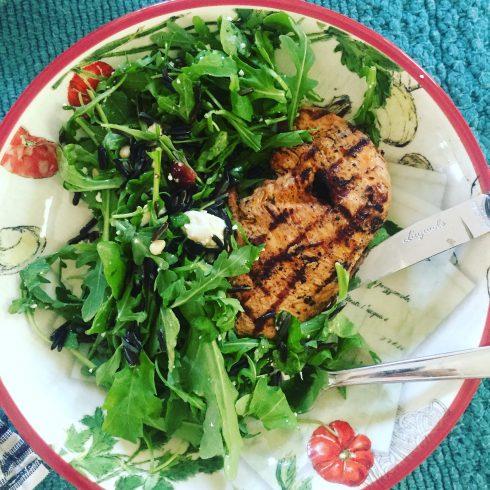 Arugula & Wild Rice Salad | The Naptime Chef