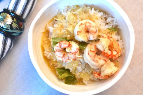 Simple Shrimp Coconut Curry | The Naptime Chef