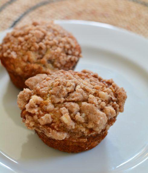 Banana Crumb Muffins | The Naptime Chef
