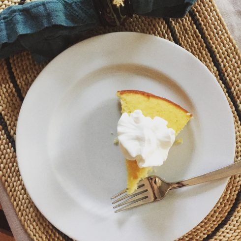 Quick Lemony Spring Cake