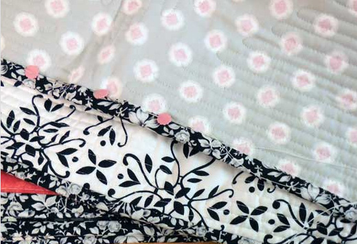 traditional quilt binding
