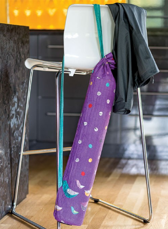 yoga mat carrier fabric project