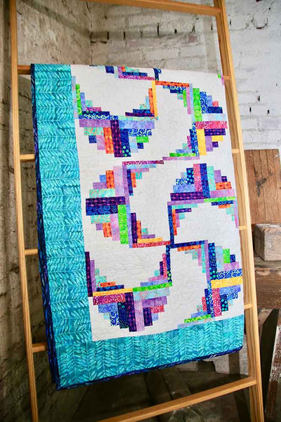 Past Meets Present Let S Make Log Cabin Quilts Keepsake Quilting