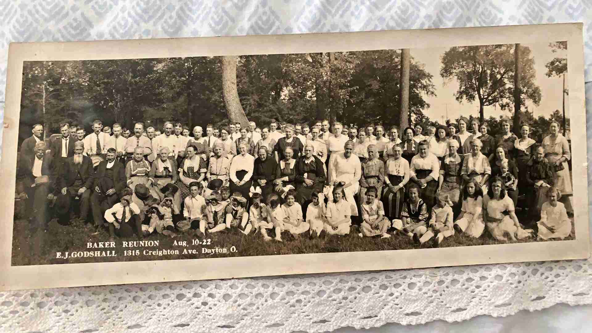 Baker Reunion Possibly 1922