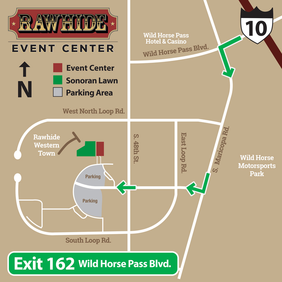Rawhide-Event-Center-Directional-Map