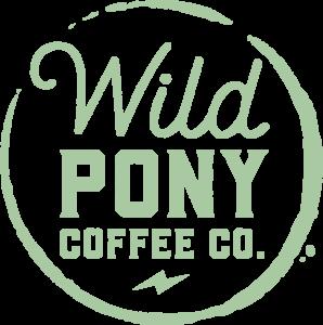 2924 Wild Pony Coffee Co. Logo - Circle