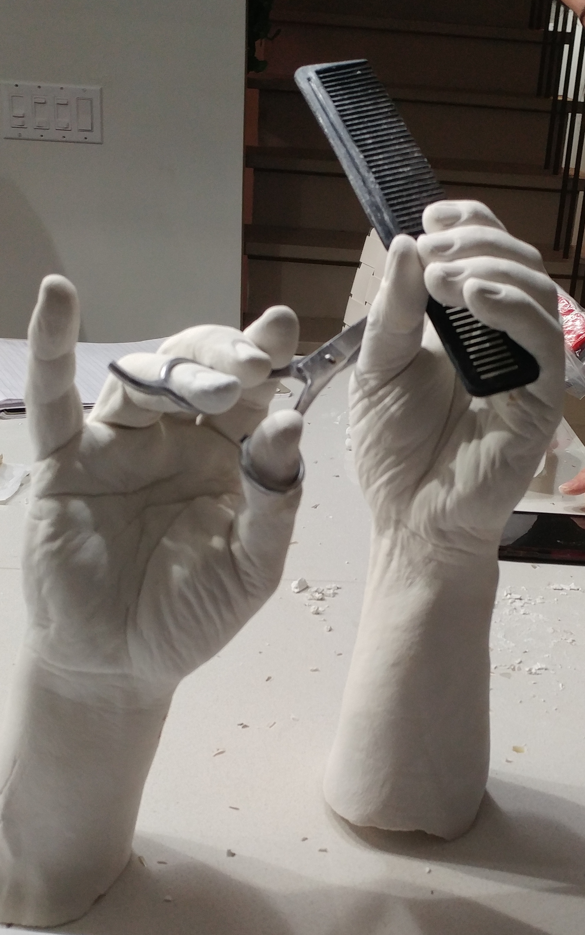 Barber hand casting BY LCSA