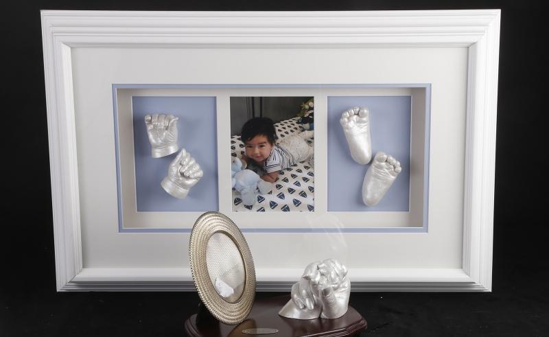 Triple Window - Mother & Child Embrace