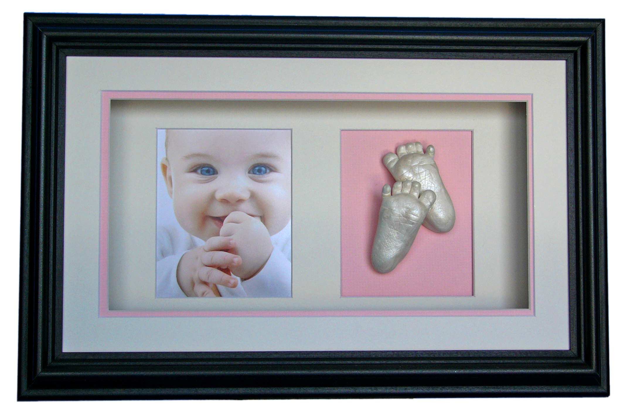 DOUBLE WINDOW Baby feet Casting
