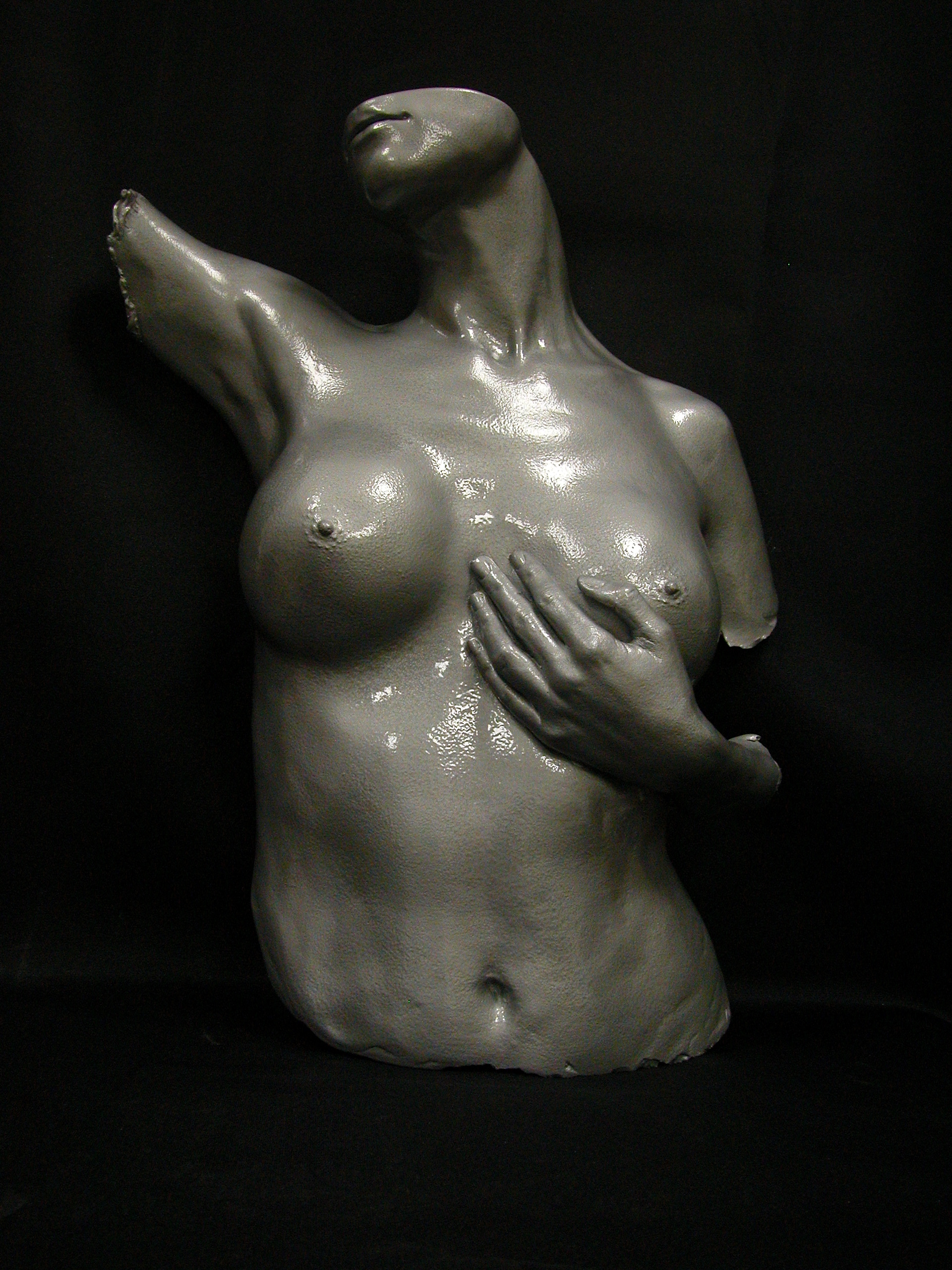 Female front torso with face By Gabrielle