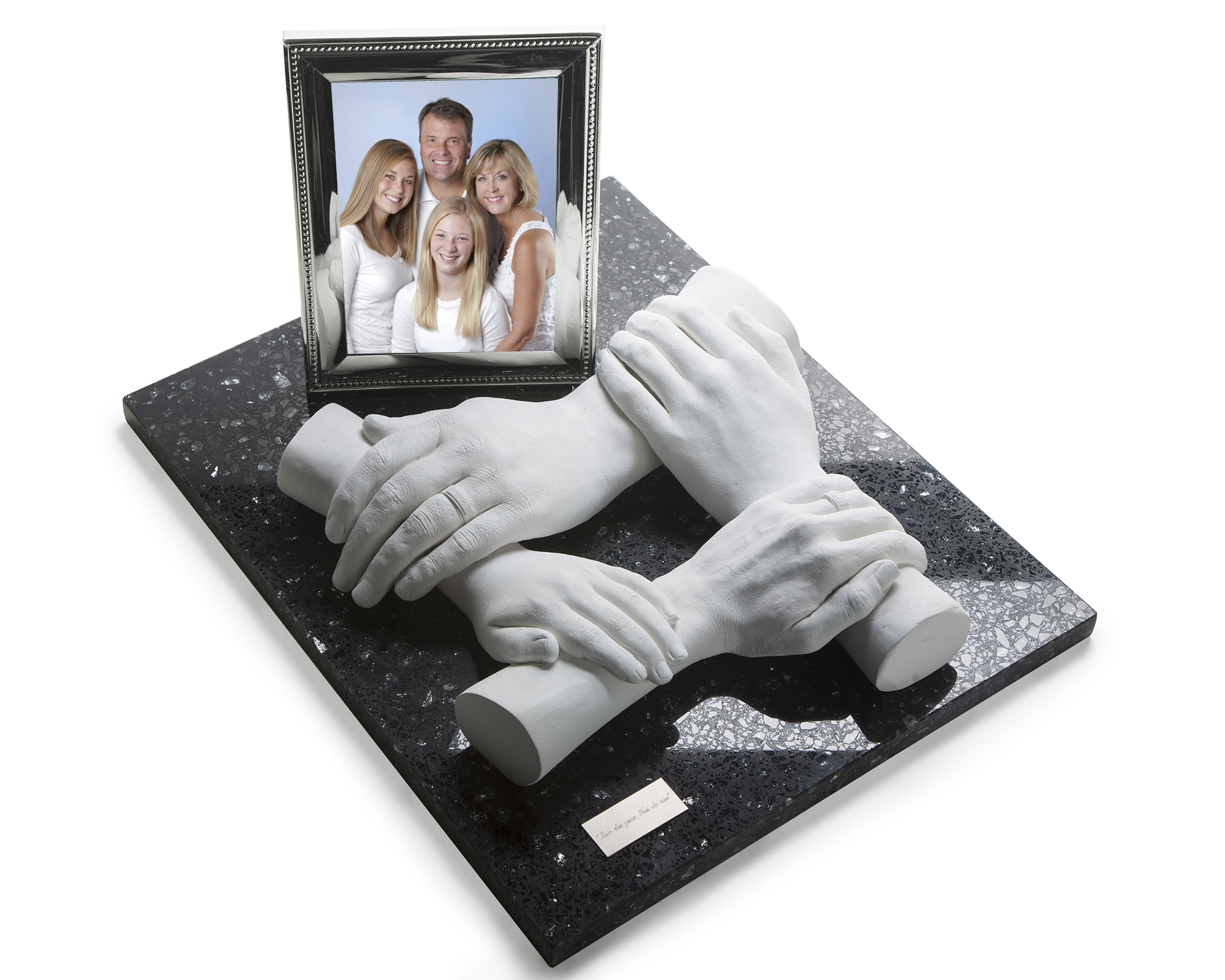 Family Hand Casting with Frame
