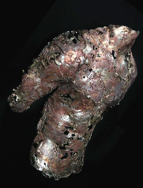 Gladiator Bronze Body Casting
