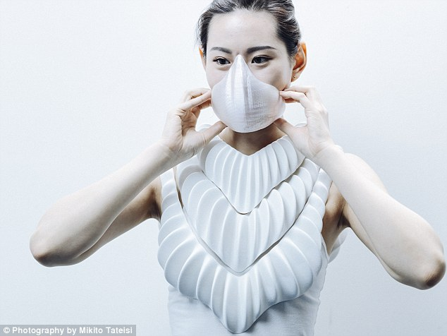 The incredible 3D printed 'gills' that could let humans LIVE underwater