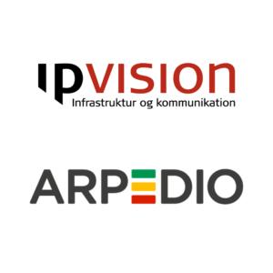 ipvision og arpedio indgår strategisk samarbejde