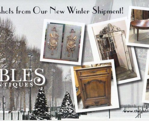 New Shipment at Gables Antiques
