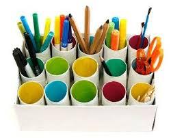 cardboard_tube_pencil holder