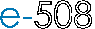 e-508 logo