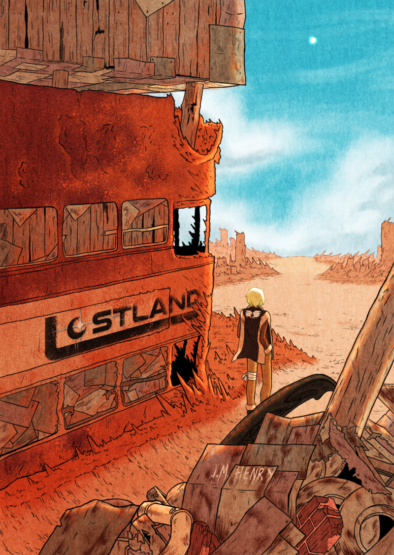 Part 1 Cover: Welcome to the LOSTLAND
