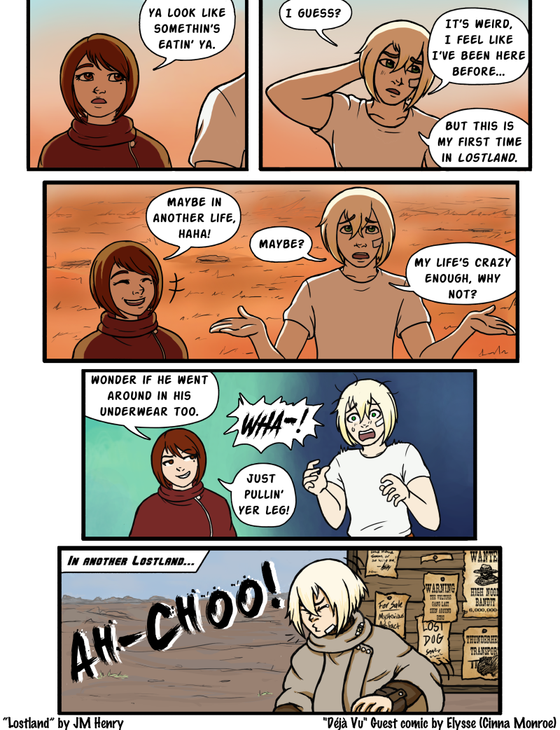 Guest Comic: Deja-Vu by Cinna Monroe