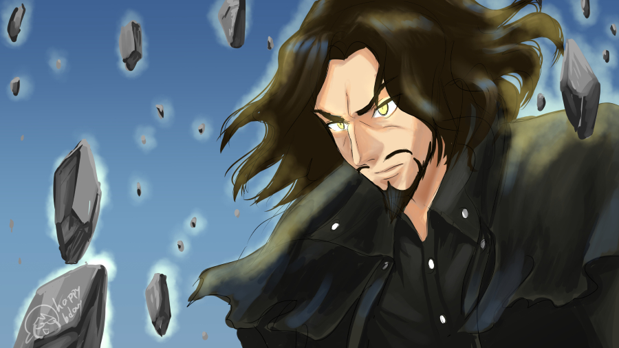 Guest Art: The Man in Black, by Mayshing