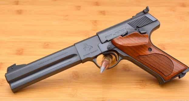 Colt_Woodsman_Match_Target_.22_Rimfire_Pistol