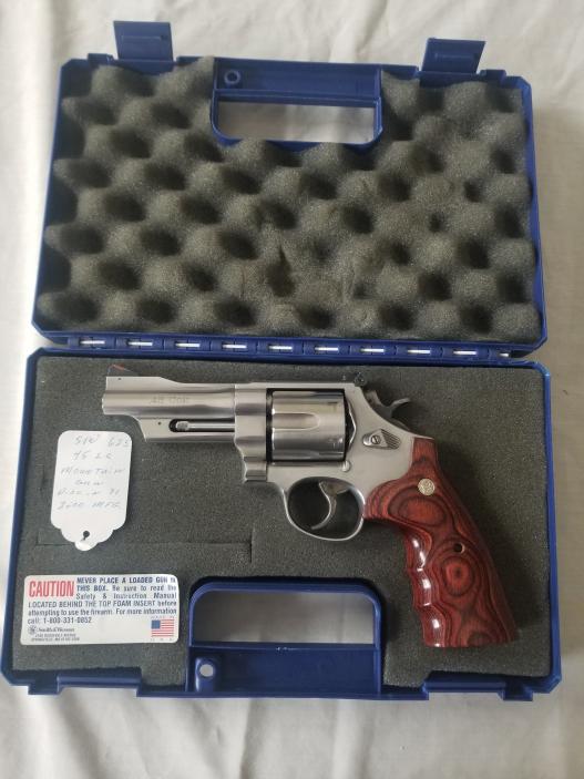 Smith & Wesson 45 Colt Mountain Gun Revolver
