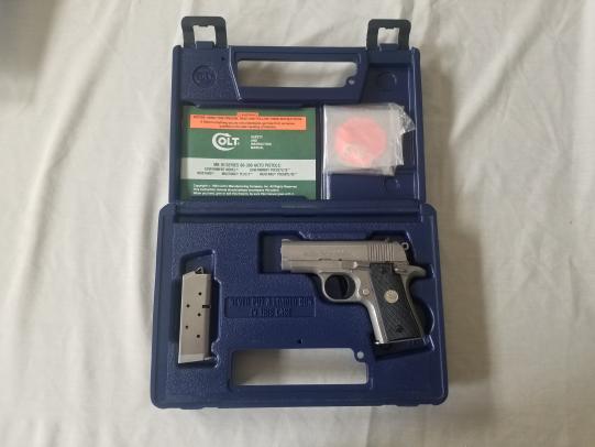Colt Mustang Mark IV Series 80 .380 Semi - Auto Pistol