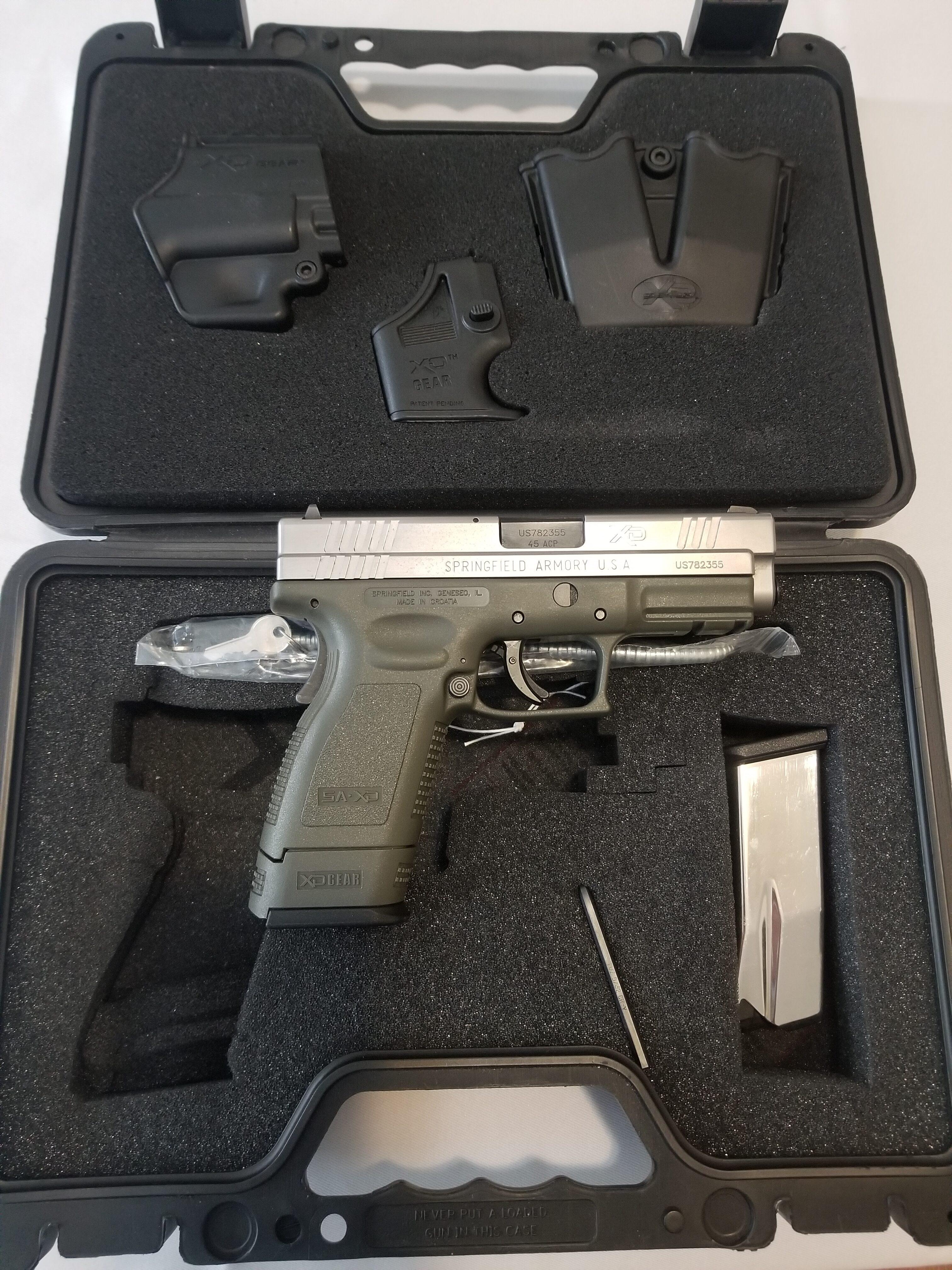 Springfield XD-45 .45 Caliber Semi-Auto Pistol